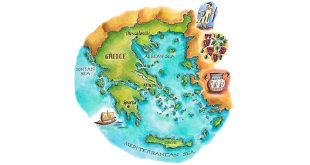 ग्रीस के अनूठे टापू Amazing Islands of Greece