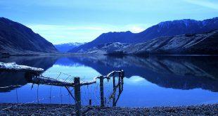 Lake Sumner Forest Park, Canterbury Region, New Zealand