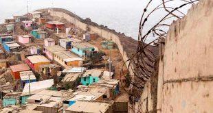 लीमा में 'शर्मिंदगी की दीवार'