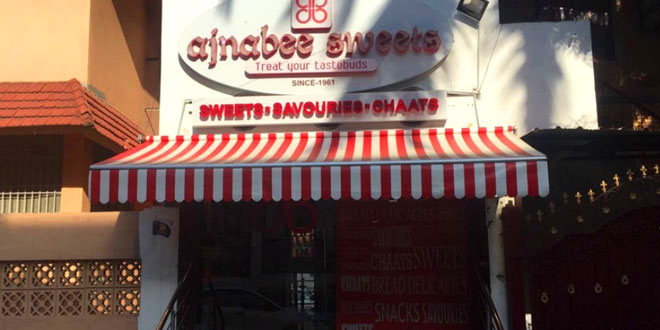 Ajnabee Sweets, T. Nagar, Chennai North Indian Restaurant