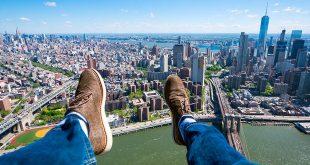 हैलीकॉप्टर में न्यूयॉर्क की सैर