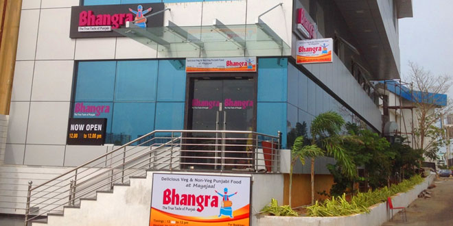 Bhangra, Kanathur, Chennai North Indian Restaurant