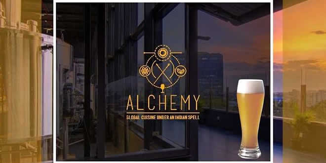Alchemy: Chancery Pavilion, Residency Road, Bangalore