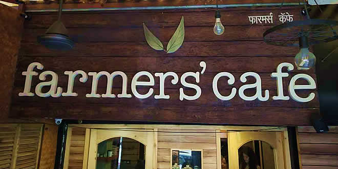 Farmers Cafe, Pali Hill, Bandra West, Mumbai