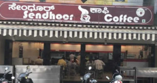 Sendhoor Coffee, Indiranagar, Bangalore South Indian Restaurant